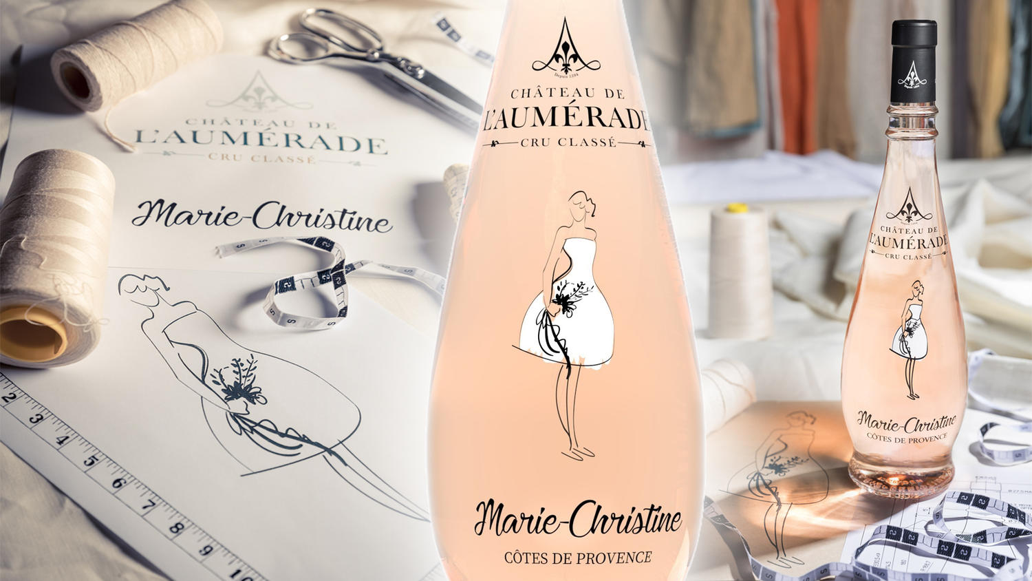 Marie-Christine rosé, nouvelle collection!